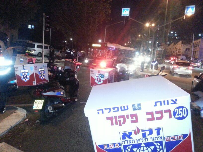 תאונה רכב אופנוע צילום יהודה רחמים - חדשות 24 (4)