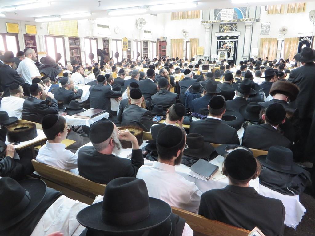 הגרש''צ רוזנבלט שיעור חג פסח ע''ד עם הרב דינר צילם שיף (14)