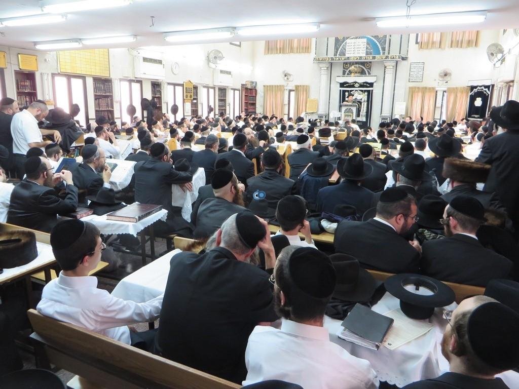 הגרש''צ רוזנבלט שיעור חג פסח ע''ד עם הרב דינר צילם שיף (16)