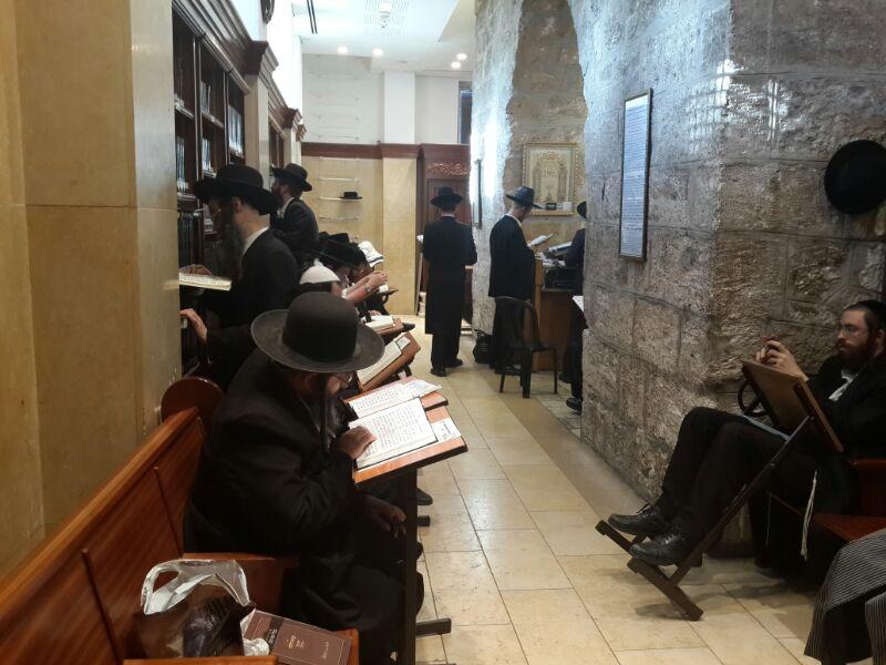 המונים בקבר רחל ומערת המכפלה בערח  אייר צילם יוסף חיים בן ציון 24(23)