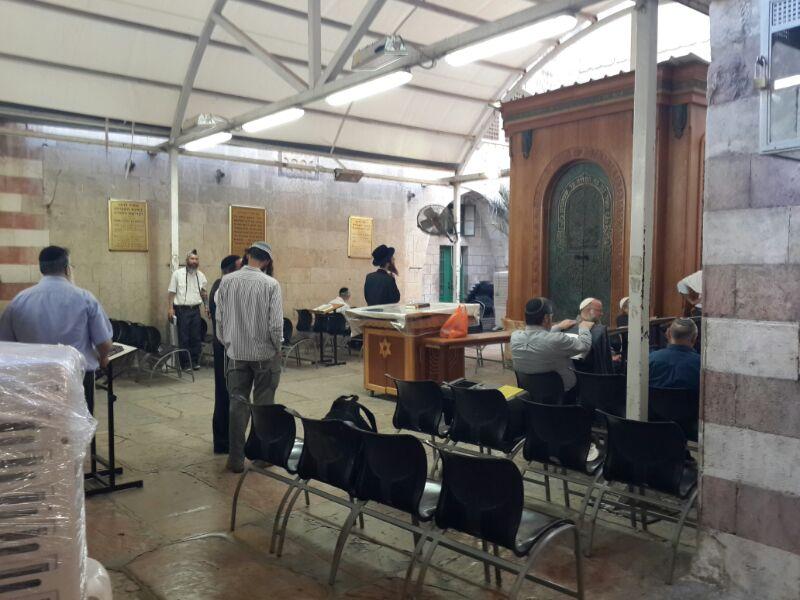 המונים בקבר רחל ומערת המכפלה בערח  אייר צילם יוסף חיים בן ציון 24(9)