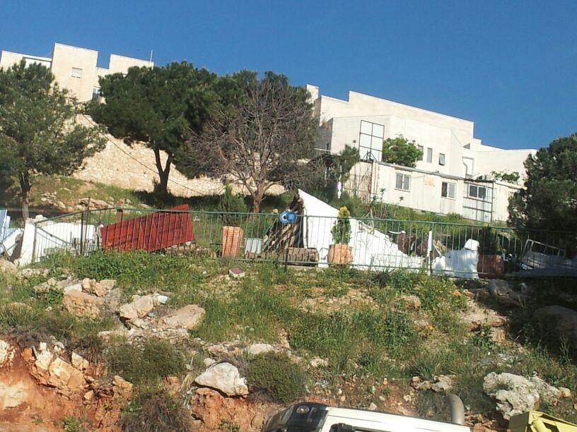 הריסה בית כנסת צילום יוסי עגמי - חדשות 24 (3)