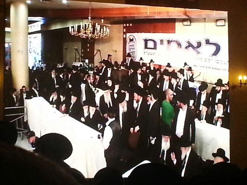 כינוס לב לאחים ניסן תשע''ד ער''ח אייר עד צילם יעקב כהן חדשות 24 (102)