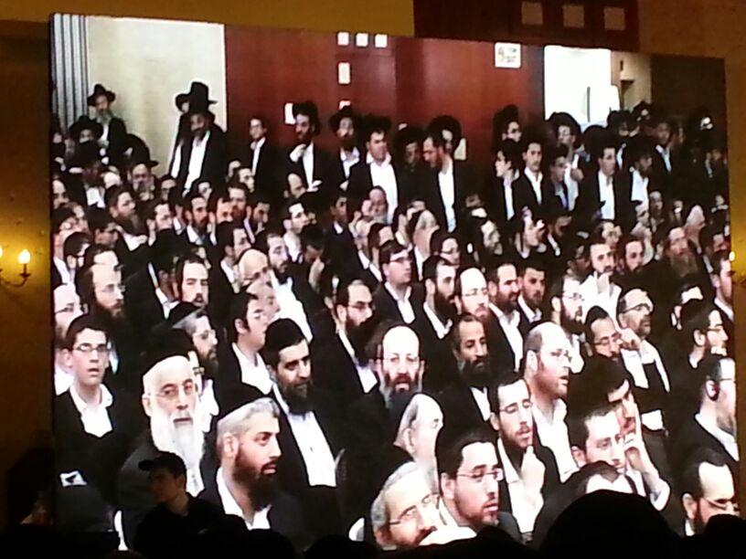 כינוס לב לאחים ניסן תשע''ד ער''ח אייר עד צילם יעקב כהן חדשות 24 (106)