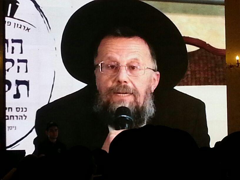 כינוס לב לאחים ניסן תשע''ד ער''ח אייר עד צילם יעקב כהן חדשות 24 (109)
