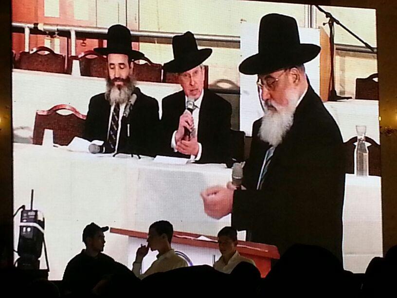 כינוס לב לאחים ניסן תשע''ד ער''ח אייר עד צילם יעקב כהן חדשות 24 (134)