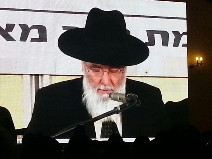כינוס לב לאחים ניסן תשע''ד ער''ח אייר עד צילם יעקב כהן חדשות 24 (141)