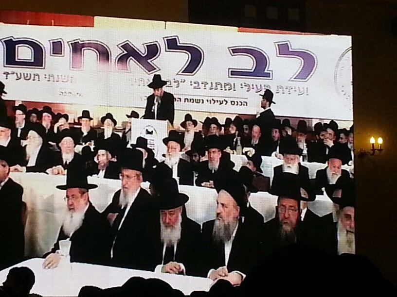 כינוס לב לאחים ניסן תשע''ד ער''ח אייר עד צילם יעקב כהן חדשות 24 (42)