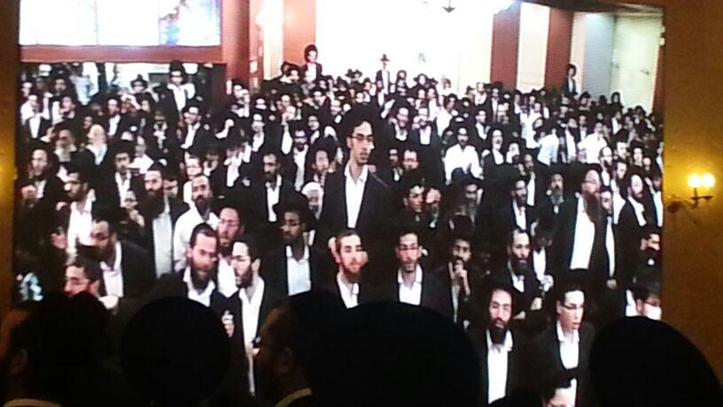 כינוס לב לאחים ניסן תשע''ד ער''ח אייר עד צילם יעקב כהן חדשות 24 (79)