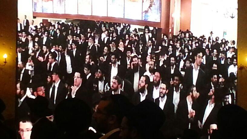 כינוס לב לאחים ניסן תשע''ד ער''ח אייר עד צילם יעקב כהן חדשות 24 (81)