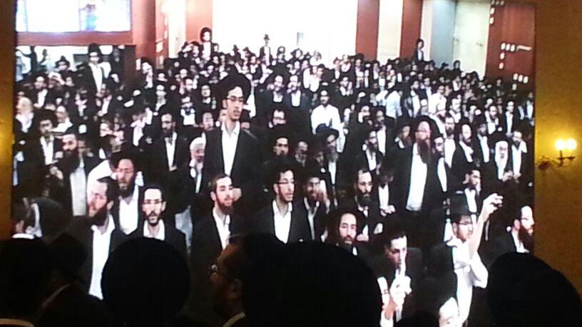 כינוס לב לאחים ניסן תשע''ד ער''ח אייר עד צילם יעקב כהן חדשות 24 (83)