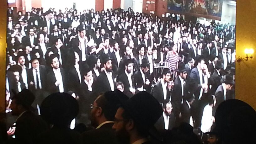 כינוס לב לאחים ניסן תשע''ד ער''ח אייר עד צילם יעקב כהן חדשות 24 (85)