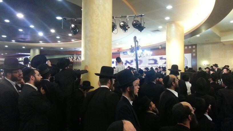 כינוס לב לאחים ניסן תשע''ד ער''ח אייר עד צילם יעקב כהן חדשות 24 (87)