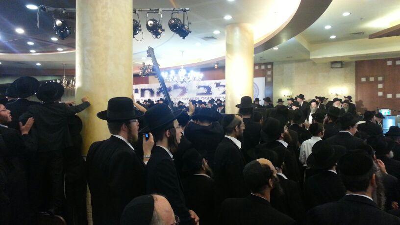 כינוס לב לאחים ניסן תשע''ד ער''ח אייר עד צילם יעקב כהן חדשות 24 (90)