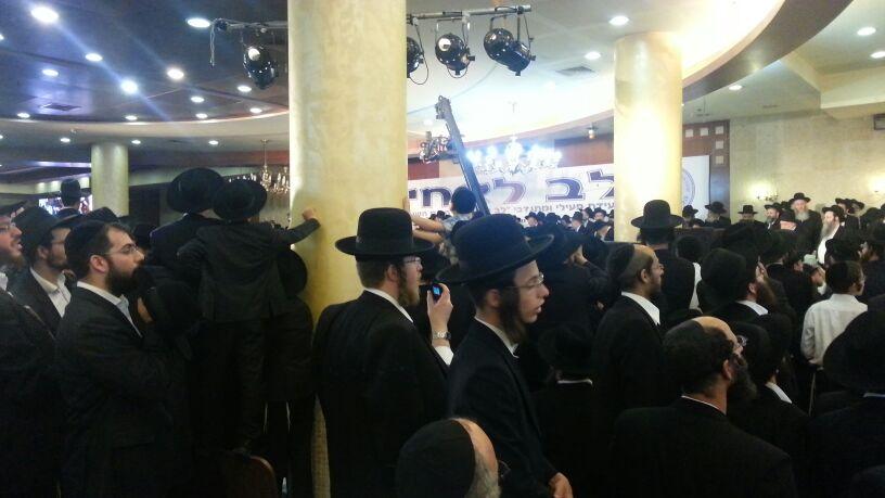 כינוס לב לאחים ניסן תשע''ד ער''ח אייר עד צילם יעקב כהן חדשות 24 (91)