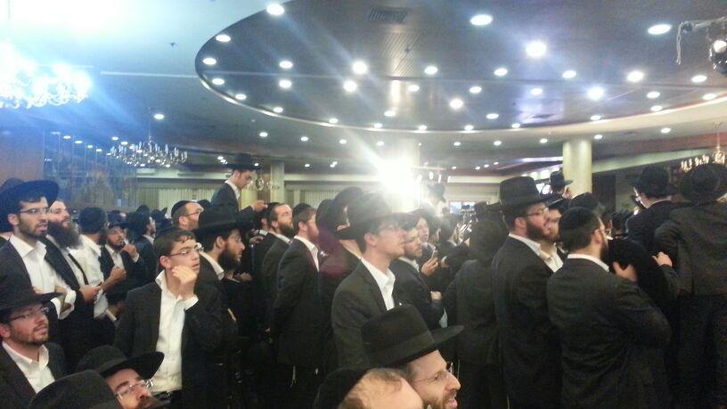 כינוס לב לאחים ניסן תשע''ד ער''ח אייר עד צילם יעקב כהן חדשות 24 (95)