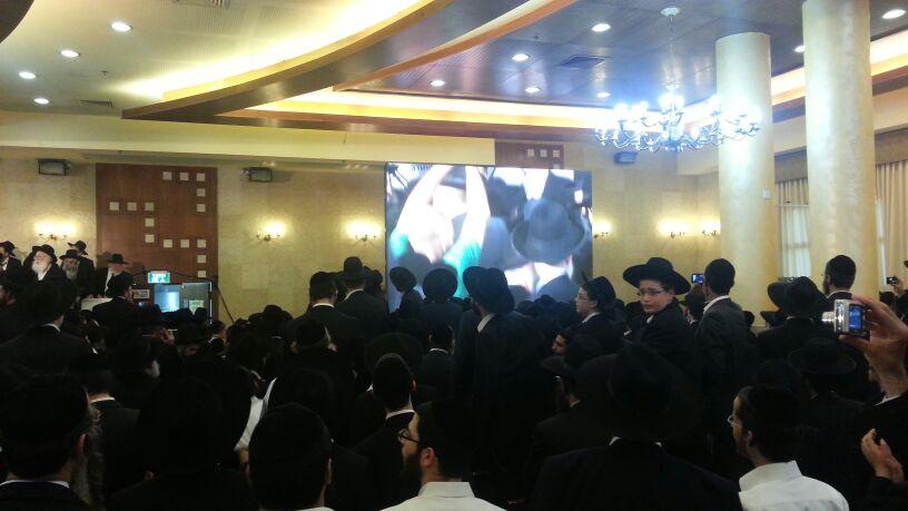 כינוס לב לאחים ניסן תשע''ד ער''ח אייר עד צילם יעקב כהן חדשות 24 (97)