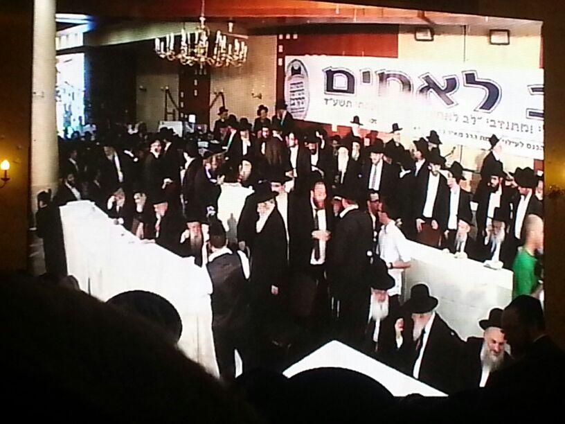 כינוס לב לאחים ניסן תשע''ד ער''ח אייר עד צילם יעקב כהן חדשות 24 (99)