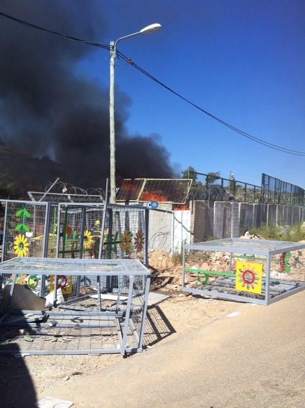 שריפה באיזור התעשיה ביתר צילם אביאל איטח 24 (1)