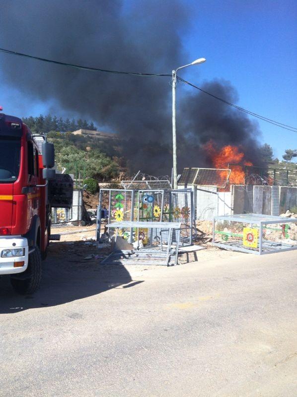שריפה באיזור התעשיה ביתר צילם אביאל איטח 24 (3)