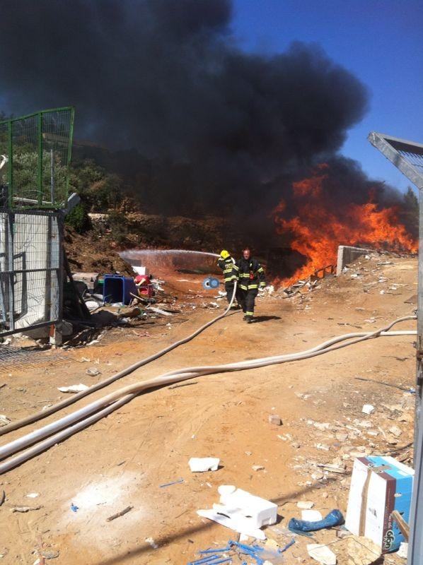 שריפה באיזור התעשיה ביתר צילם אביאל איטח 24 (4)