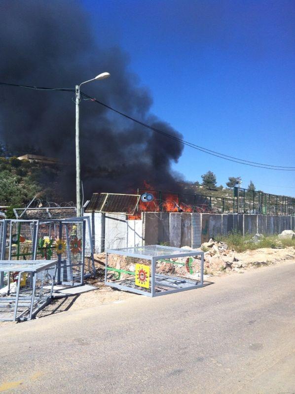 שריפה באיזור התעשיה ביתר צילם אביאל איטח 24 (6)