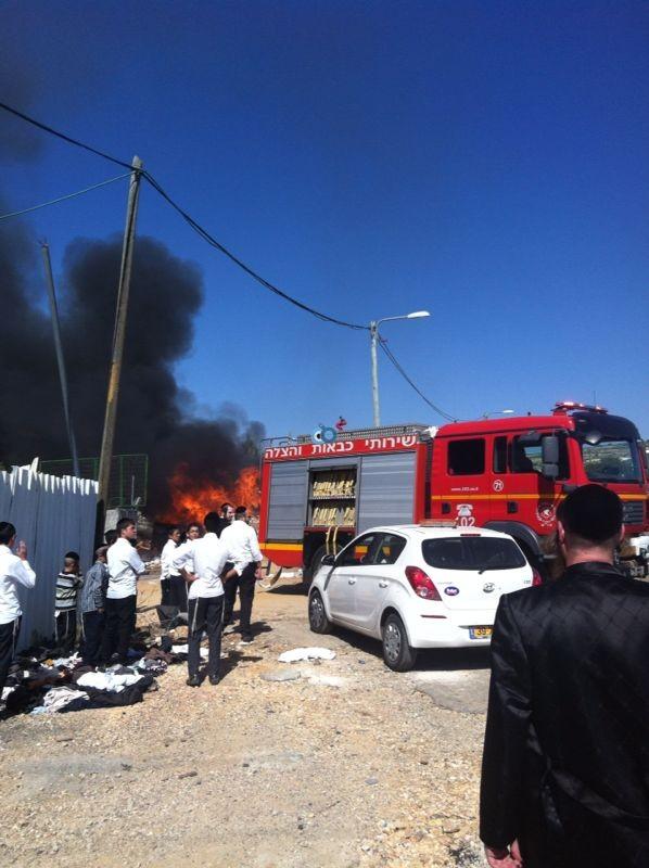 שריפה באיזור התעשיה ביתר צילם אביאל איטח 24 (9)