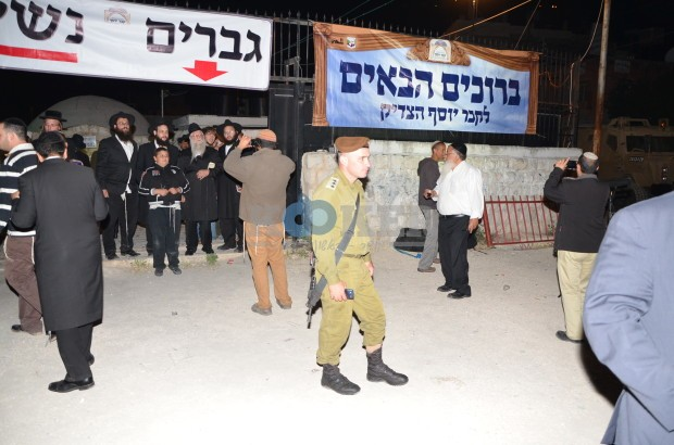 אלמ יואב ירום מחט שומרון בכניסה לקבר יוסף