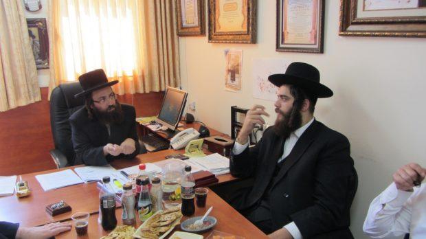 ביקור ישראל פרוש ויזניץ13