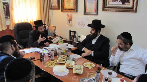 ביקור ישראל פרוש ויזניץ16