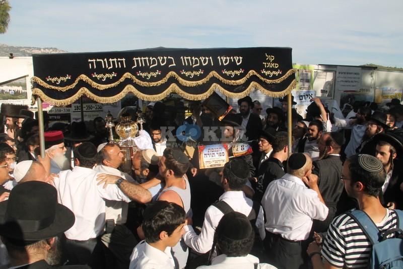 הכנסת ס''ת עם הרב יחיאל אבוחצירא רמלה צילם אור הרשב''י (14)