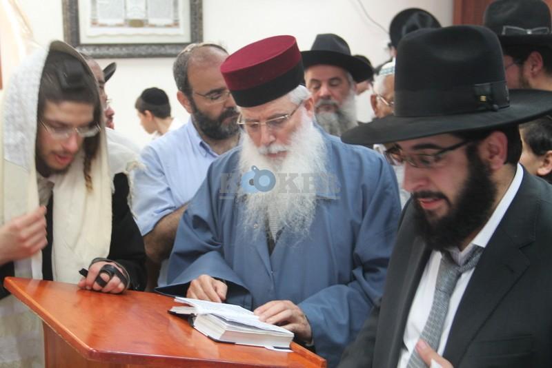 הכנסת ס''ת עם הרב יחיאל אבוחצירא רמלה צילם אור הרשב''י (23)