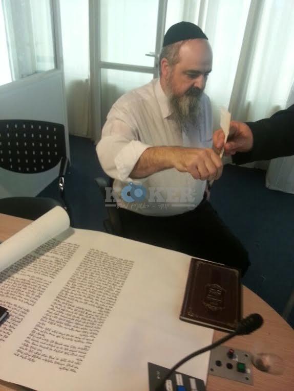 כתיבת ספר תורה אור הרשב''י (1)