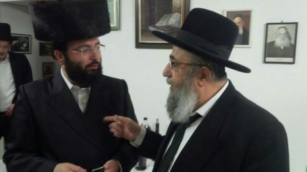 רוזנשטין עם הרב זיכרמן