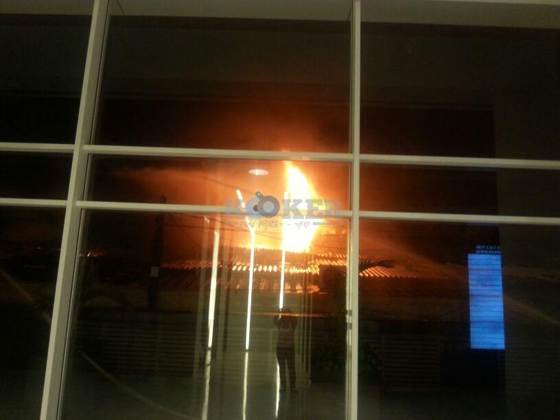 שריפה בני ברק צילם אורי