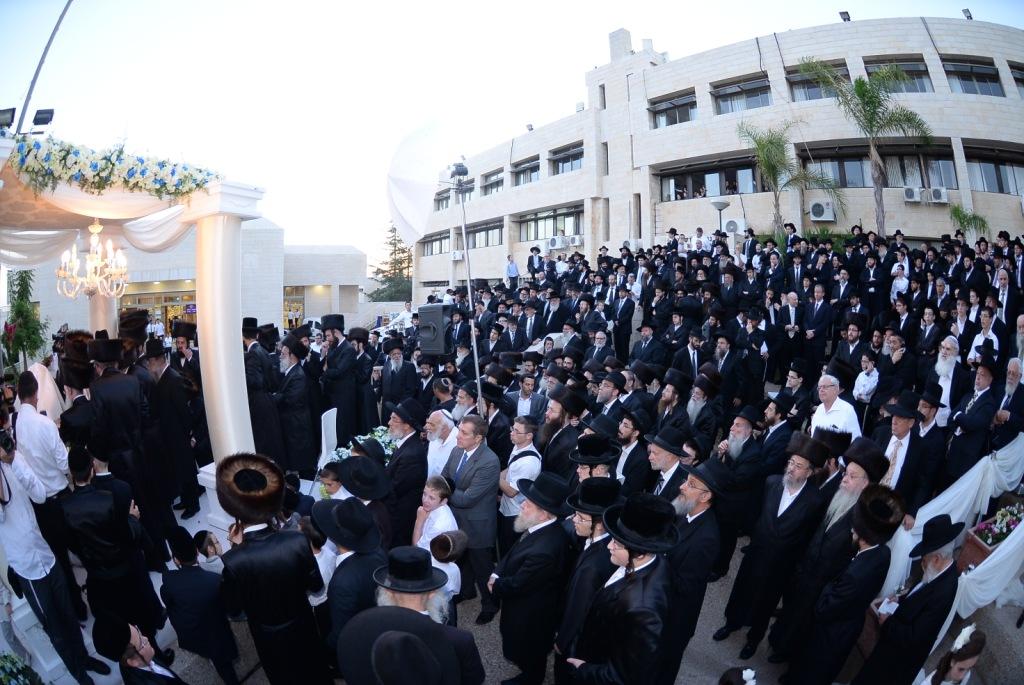 חתונה בת רבי אשר וייס דרכי תורה צילם משה גולדשטיין (2)