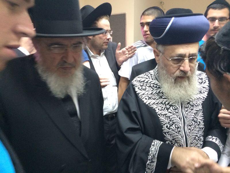 הגר''י יוסף עם הרב הגרב''מ אזרחי משיף (10)