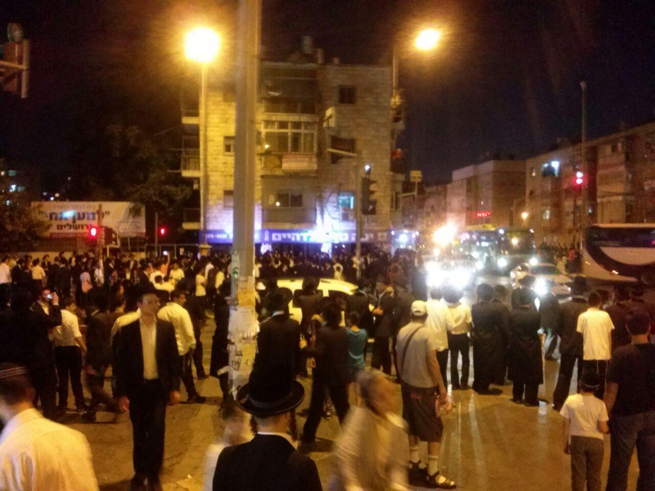 הפגנת הפלג הירושלמי ירושלים צילם שמוליק ויינשטוק 24 (1)