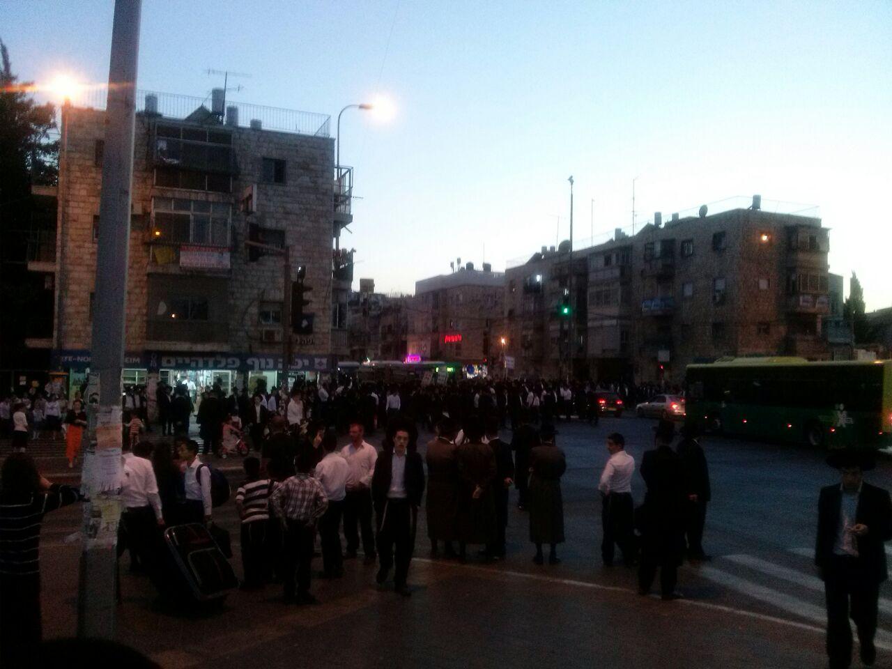 הפגנת הפלג הירושלמי ירושלים צילם שמוליק ויינשטוק 24 (2)
