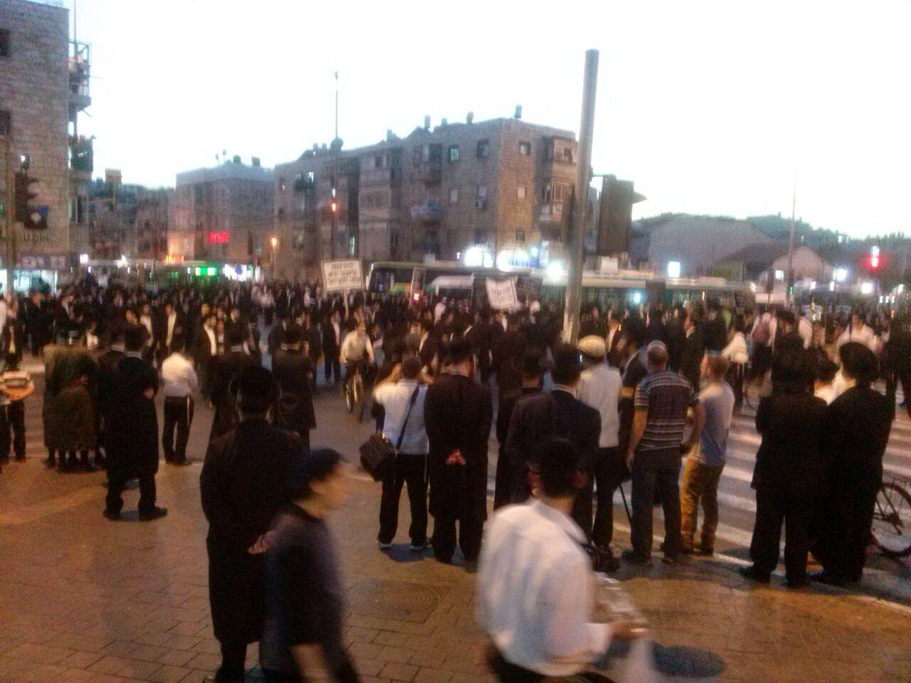 הפגנת הפלג הירושלמי ירושלים צילם שמוליק ויינשטוק 24 (8)