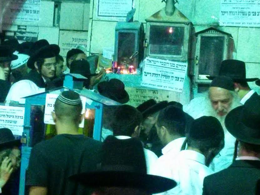 עליה לציון האר''י האריז''ל צילם אליעזר סמט 24 (13)