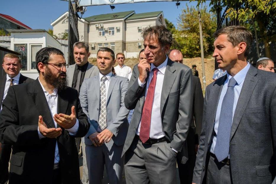 שגריר ישראל אוקראיינה אומן צילם דוברות נקדימון (1)