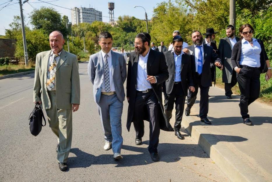 שגריר ישראל אוקראיינה אומן צילם דוברות נקדימון (13)