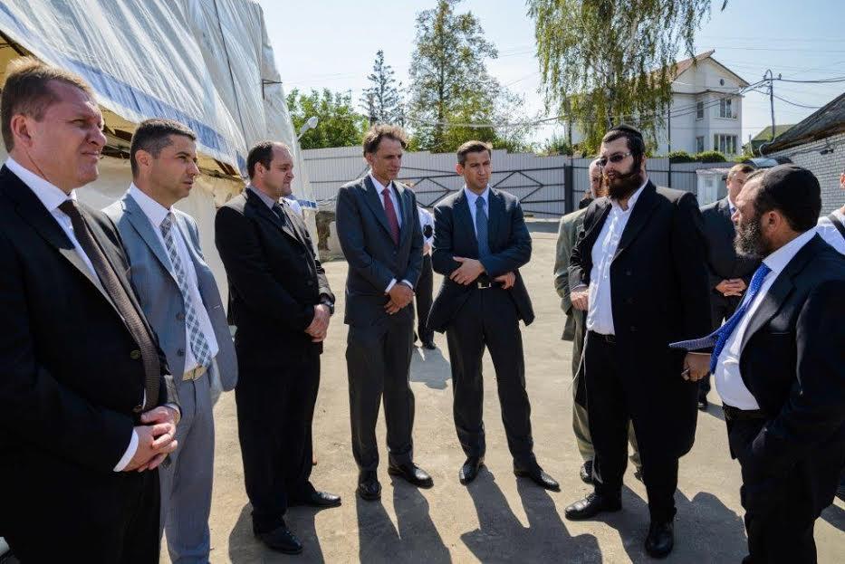שגריר ישראל אוקראיינה אומן צילם דוברות נקדימון (2)