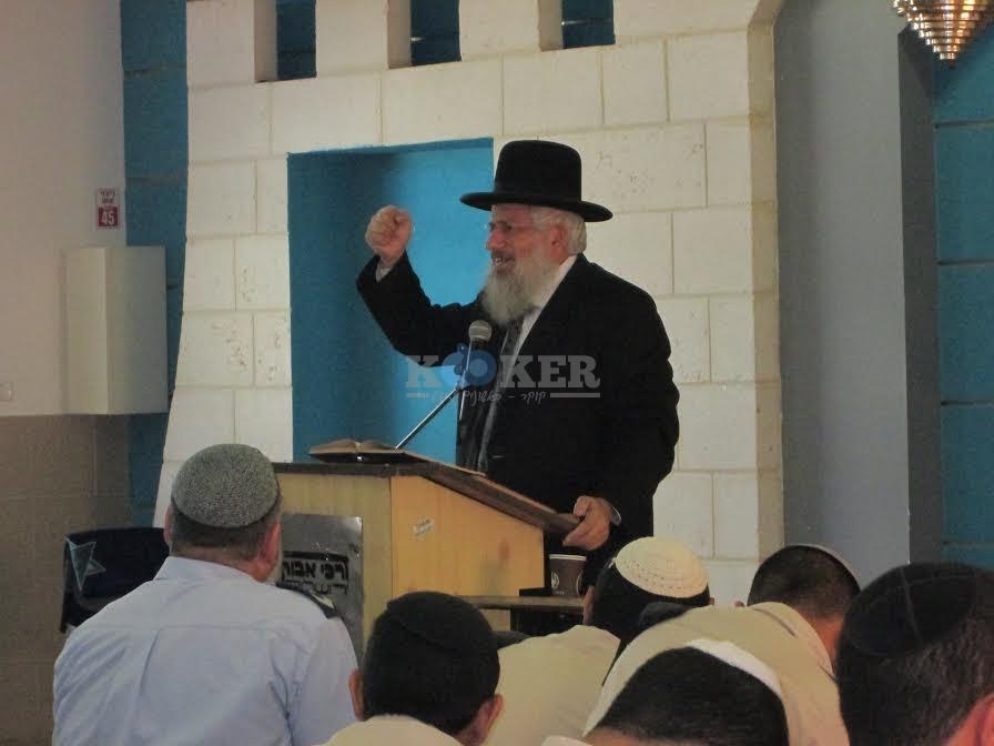 הרב מרדכי טולידאנו באדיבות המצלם 3