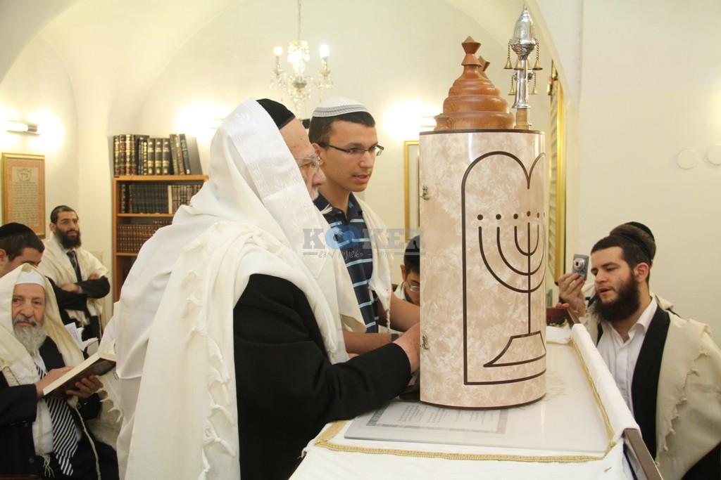 חכם שלום כהן סוכות תשע''ה צילם יעקב כהן (4)