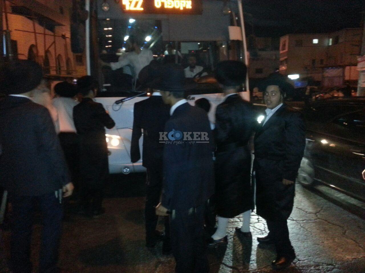 חסימות אוטובוסים השומר צילם יהודה רחמים 24 (1)