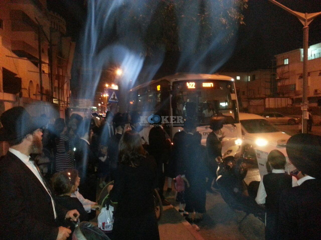 חסימות אוטובוסים השומר צילם יהודה רחמים 24 (2)