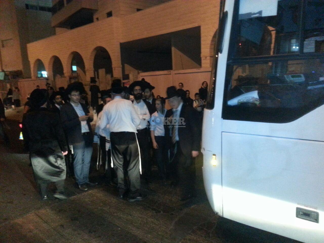 חסימות אוטובוסים השומר צילם יהודה רחמים 24 (6)