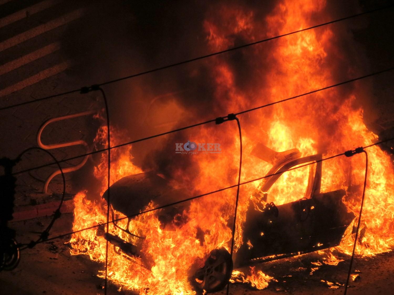 אש , פיצוץ באשדוד מליזה ללוצשוילי אין צורך קרדיט (13)